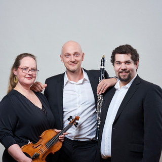 With Nina Reddig & Daniel Bollinger