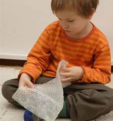 Add some bubble wrap to your sensory diet