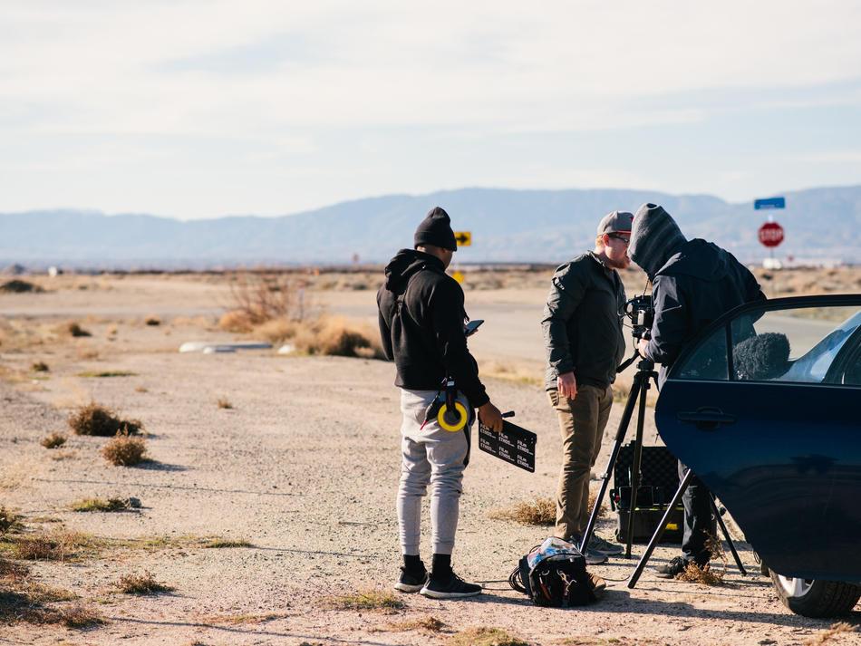 Behind the Scenes (Shooter: Lauren Angel-Field)