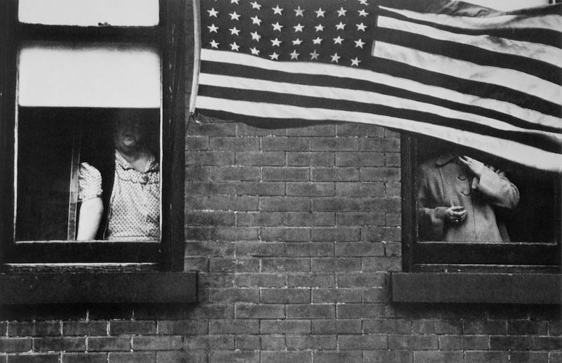 Robert Frank, Parade - Hoboken, New Jersey, The Americans