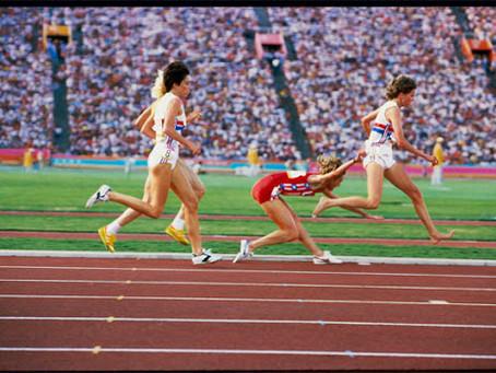 I Giochi Olimpici non convenzionali di David Burnett.