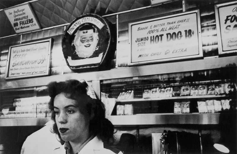 Robert Frank, Ranch market, Hollywood, The Americans