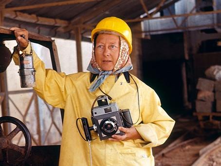 La prima fotografa freelance?...            Marcella Pedone!