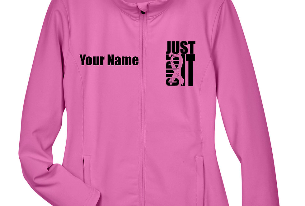 Just Cure It Ladies Soft Shell Jacket