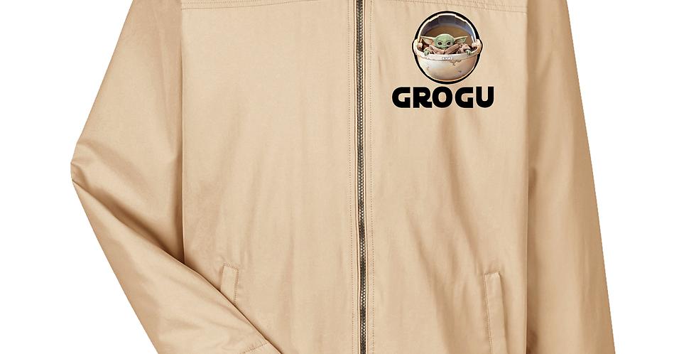 Mens Grogu  All-Season Hip-Length Club Jacket