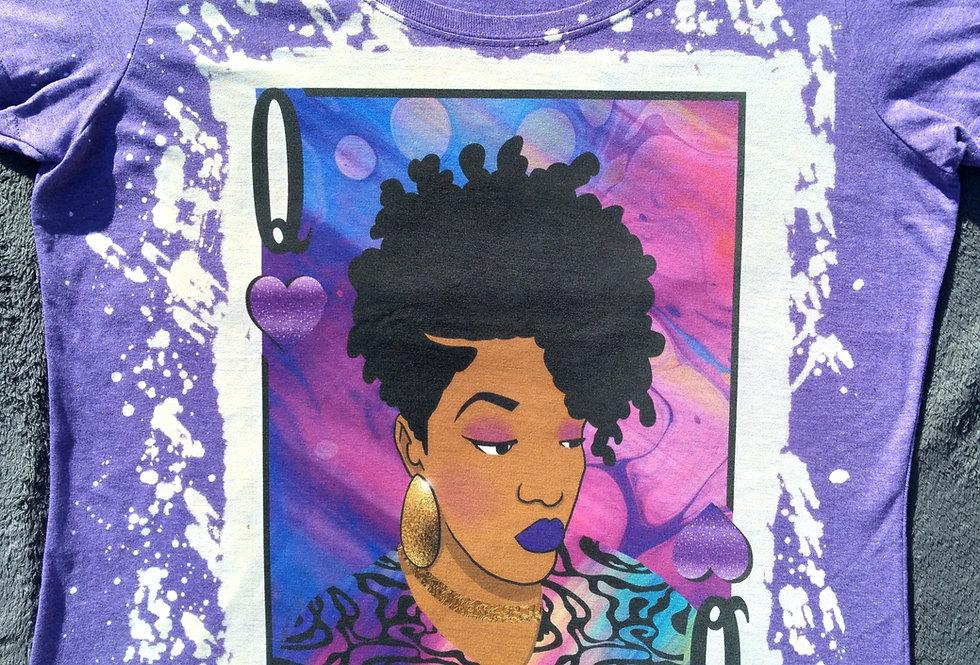 Purple Queen of Hearts