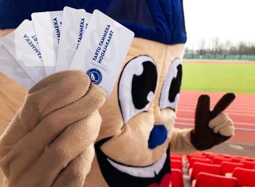 Soeta endale 2020 hooajakaart, saa osa klubi boonustest ja võida vinge auhind!