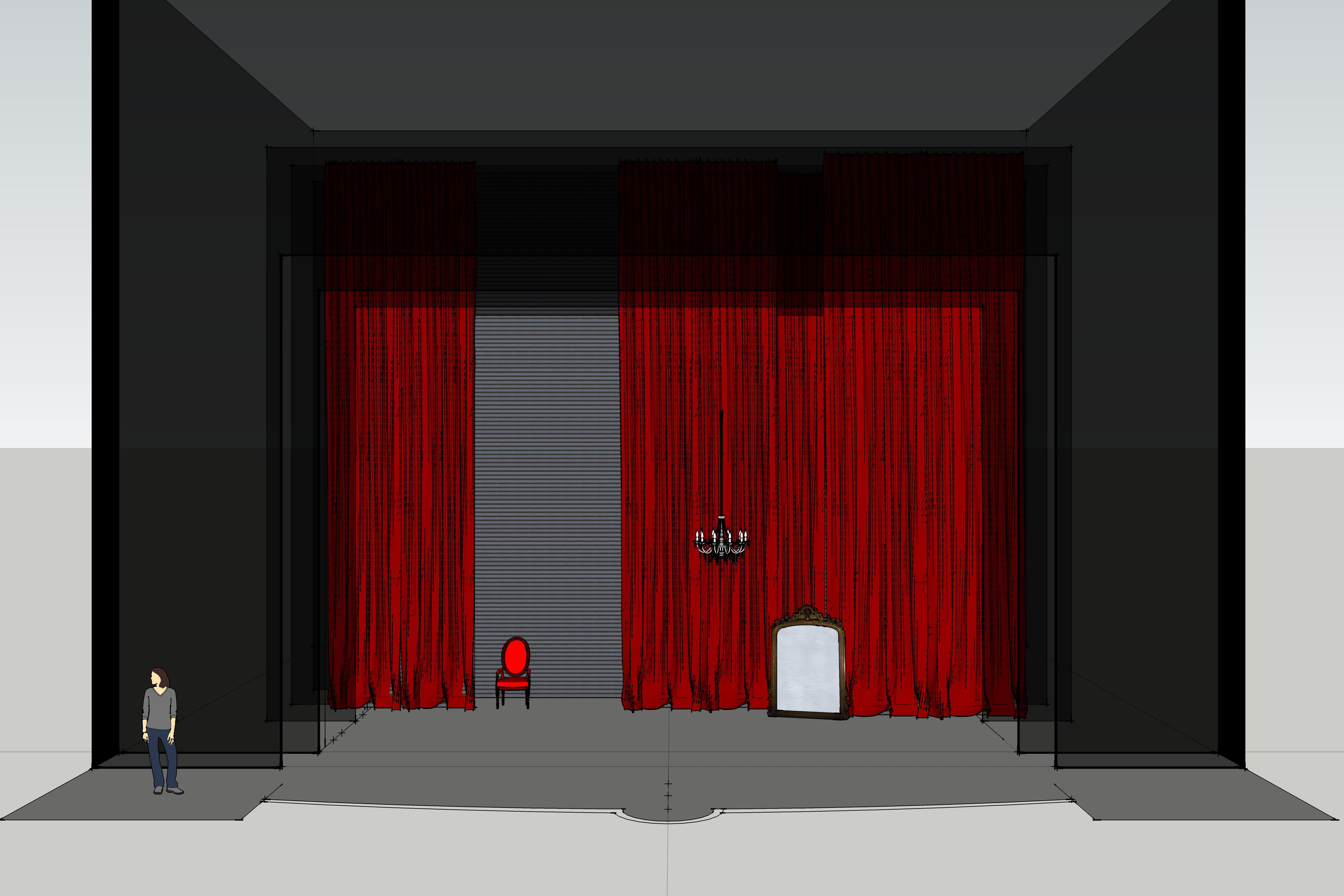 3ème Tableau - Salon Vert