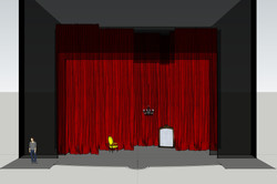 1er Tableau - Salon Rouge