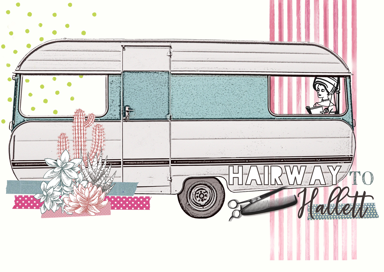 Graphic design Hairway To Hallett