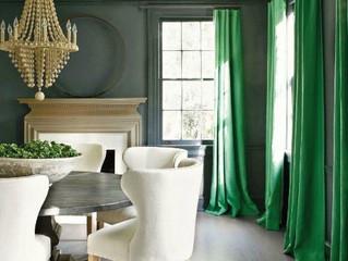 Магия цвета. Зеленый в интерьере