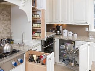 Как организовать пространство на кухне? Функциональность и хранение