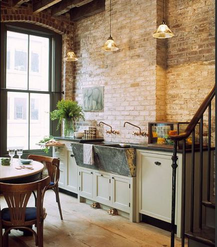 brick_walls_in_loft_kitchens__atticmag_exposed_brick_wall_kitchen_kitchens_bathr