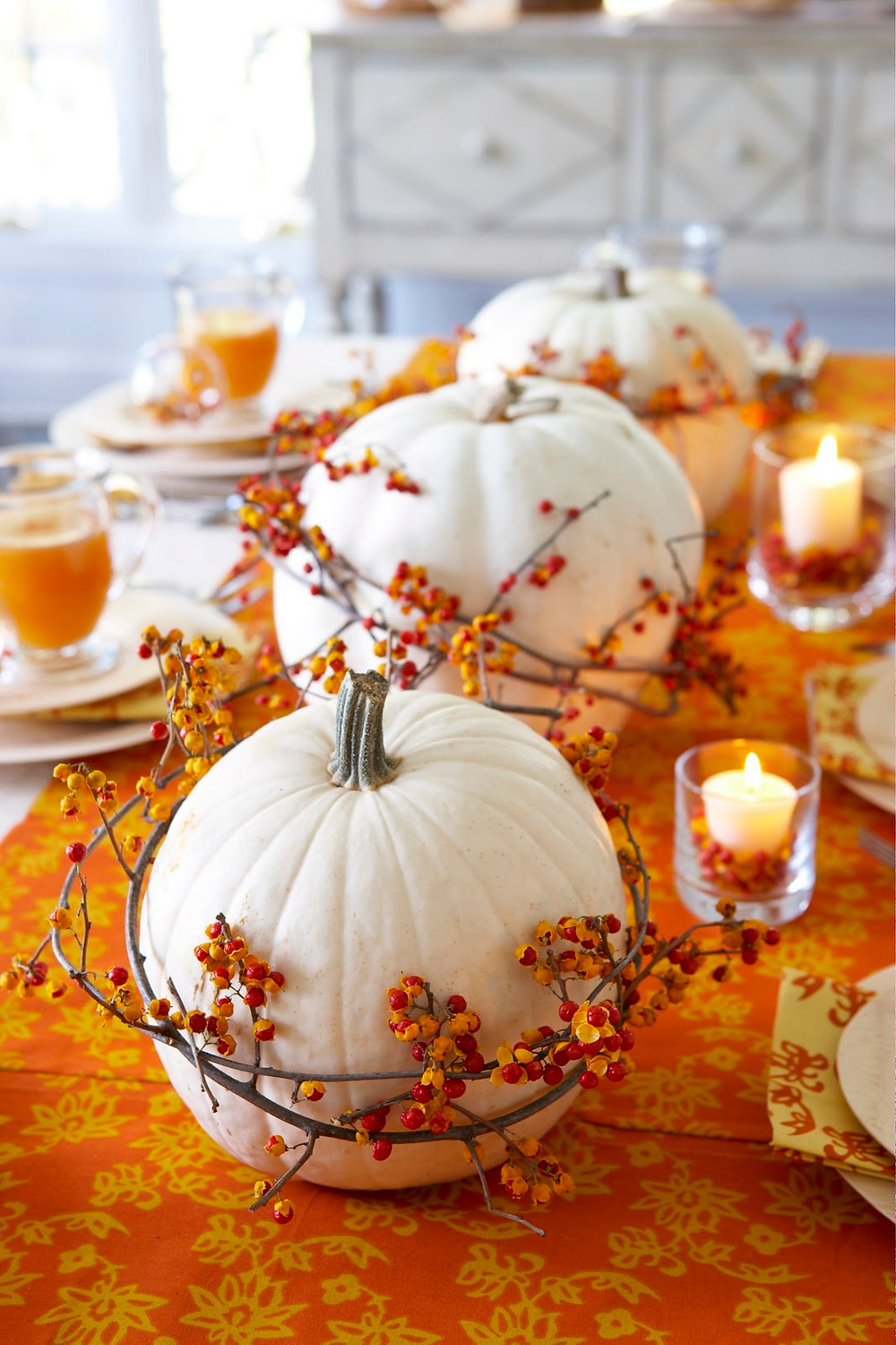 interior-exterior-cool-fall-home-decorating-idea-for-dining-table-with-orange-ta