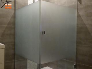 Paroi de douche sur mesure
