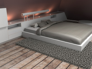 Rendering chambre parentale