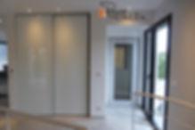 portes coulissantes-porte coulissante-laquee-encastre-sur mesure
