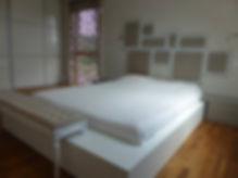 chambre parentale-pause mobilier-entourage-tete de lit-cadre de lit-sur mesure-banc-capitonnage