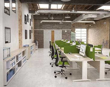 open spaces-cloisonnements-space-cloison-espace de travail-acoustique-mobilier modulable