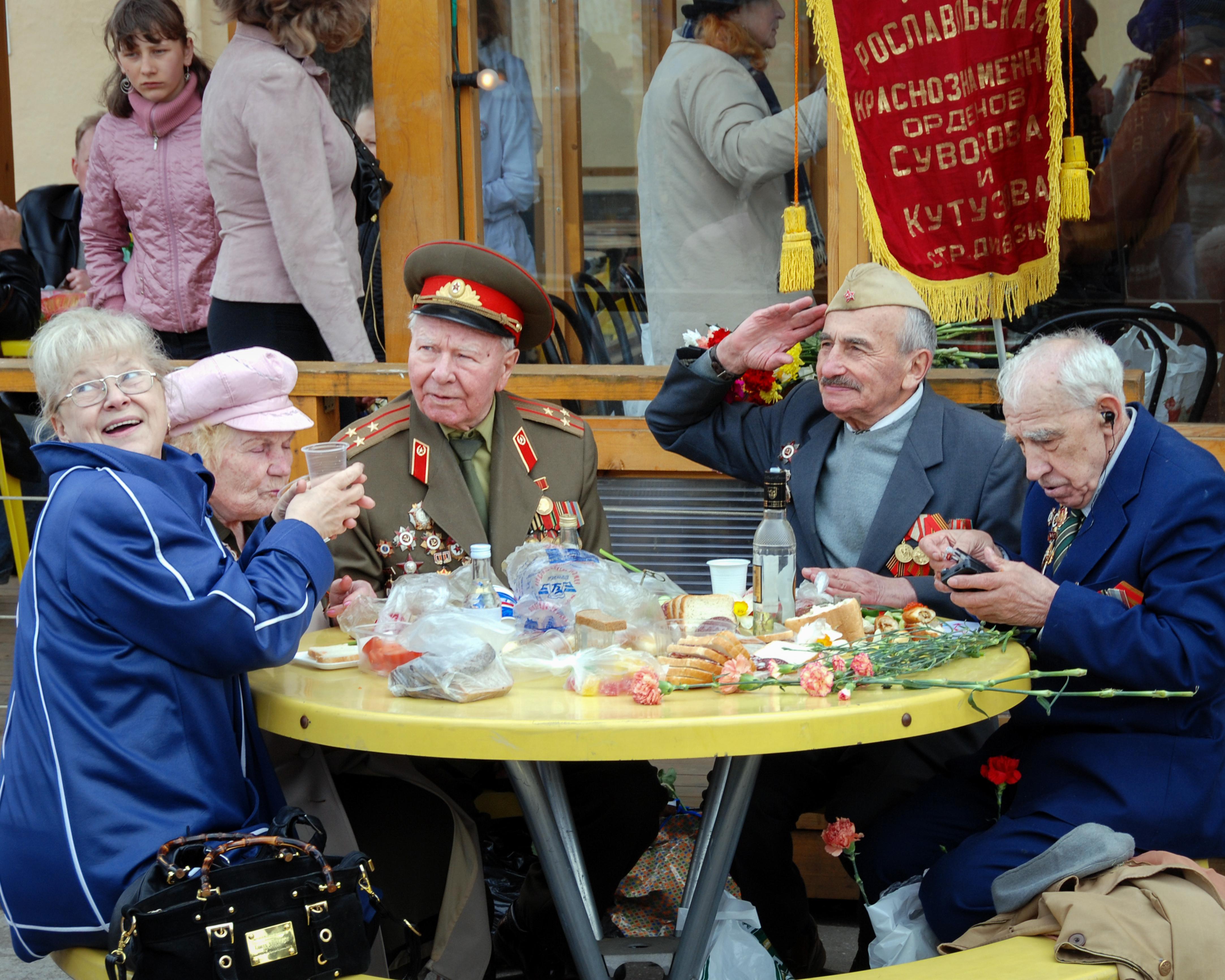 Veterans, Gorky Park 2007