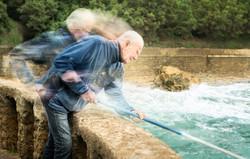 Biarritz fisherman