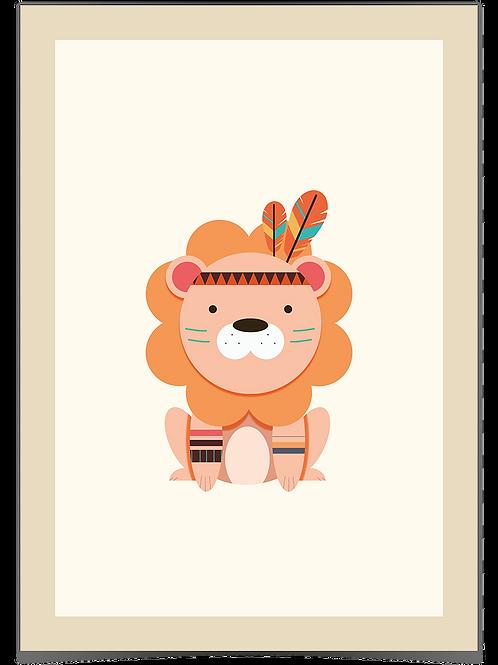 Løve A3