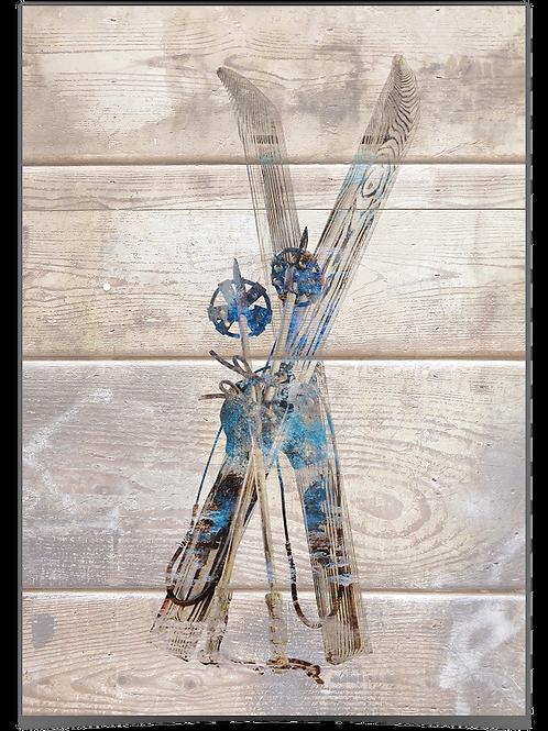 Astrid - Ski (hyttevegg) 70x100