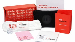 Red by Modibodi - First Period Box review