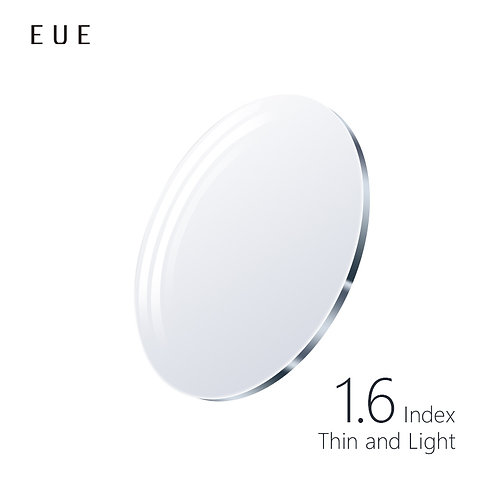 EUE 1.6AS Index Blue Light Digital Thin and Light Lenses
