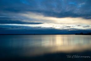 Sunrise over Little Bay de Noc