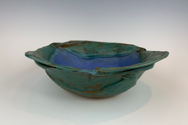 """Calla Lily Leaf Bowl"" (view 3)"