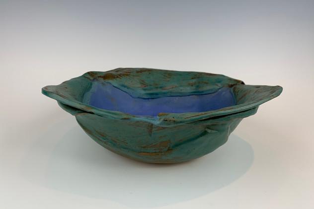 """Calla Lily Leaf Bowl"" (view 3)"