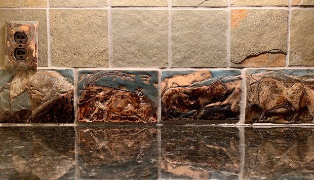 Kitchen Backsplash Installation IV
