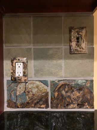Kitchen Backsplash Installation VI