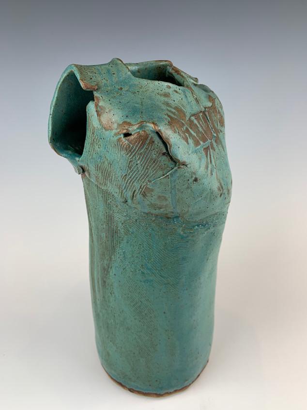 """Torso Sculpture Vase"" (view 3)"