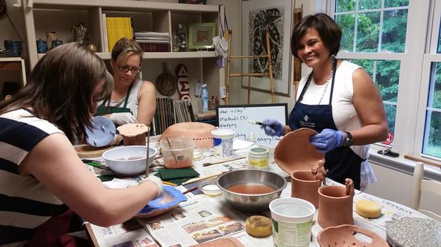 Pottery Team Building Class