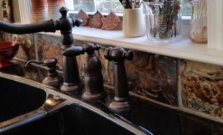 Kitchen Backsplash Installation V