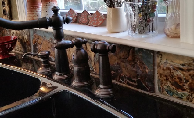 Kitchen Backsplash Installation V
