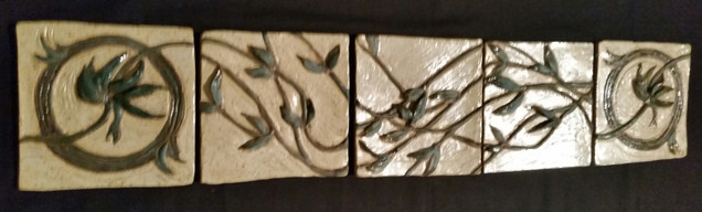 """Accent Tiles"" (set of 5)"