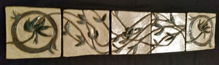"""""""Accent Tiles"""" (set of 5)"""