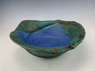 """Calla Lily Leaf Bowl"" (view 2)"