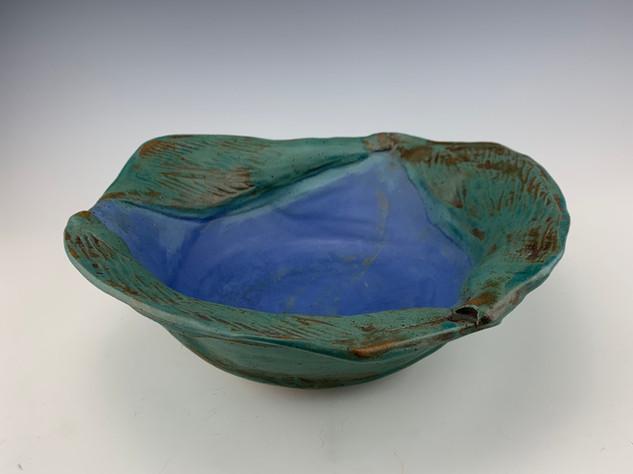 """Calla Lily Leaf Bowl"" (view 2)"