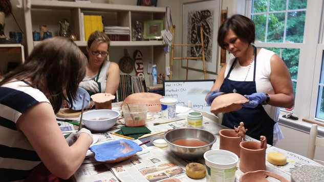 Pottery Team Building Class
