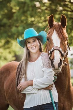 Elaine and Padamay - Pittsburgh Equine Photographer