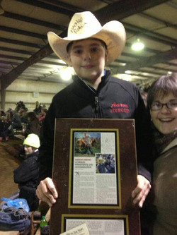 Aaron Amon with his article