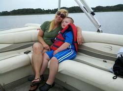 Trenton & mom