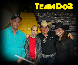 Team Texas & Dominique W/Dad