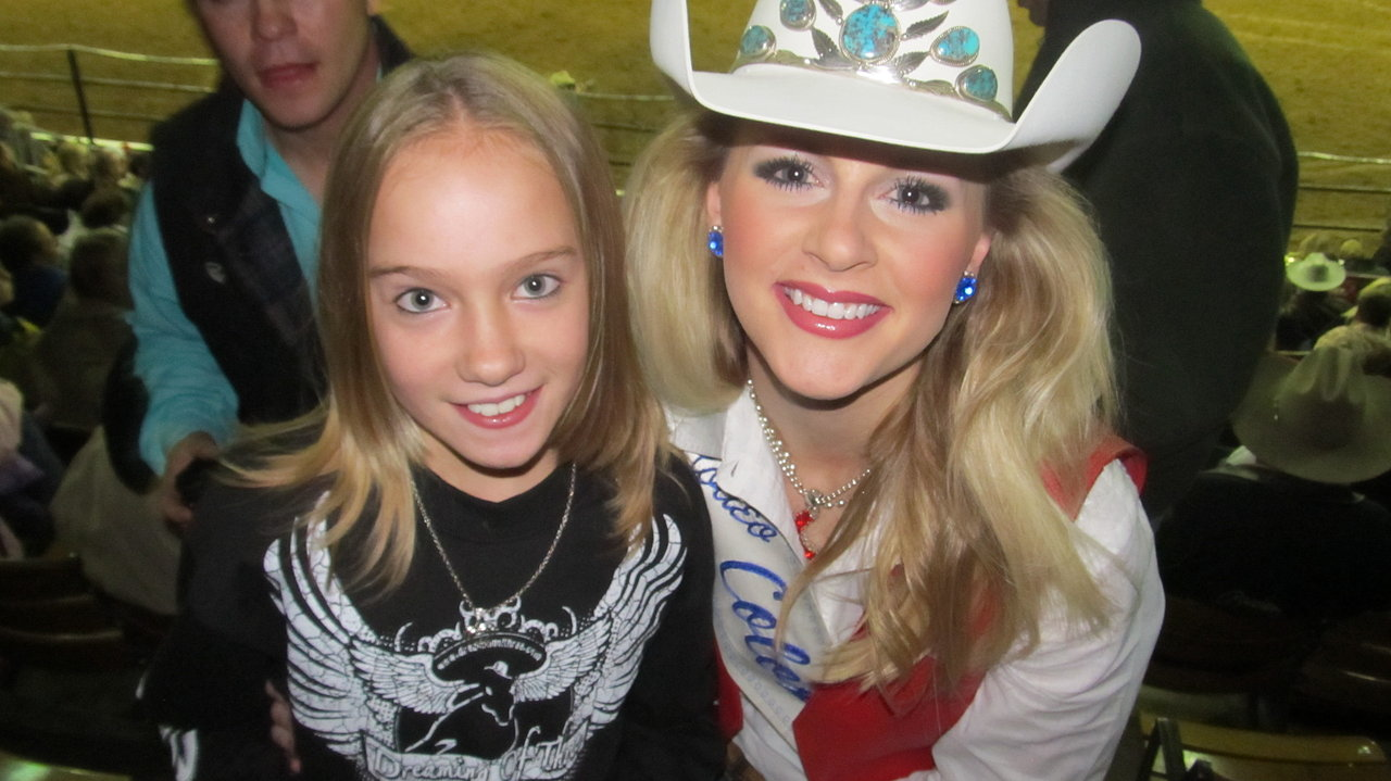 Amy LeClair w/Rodeo Queen