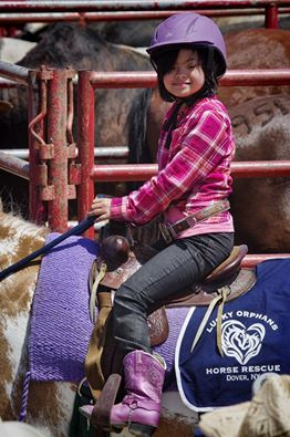 Shania riding