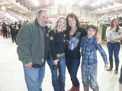 Hunter, Ben, Holly & Jackie